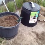 生ゴミで堆肥作り