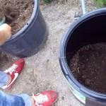 生ゴミ堆肥作り