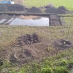 畑水没の危機