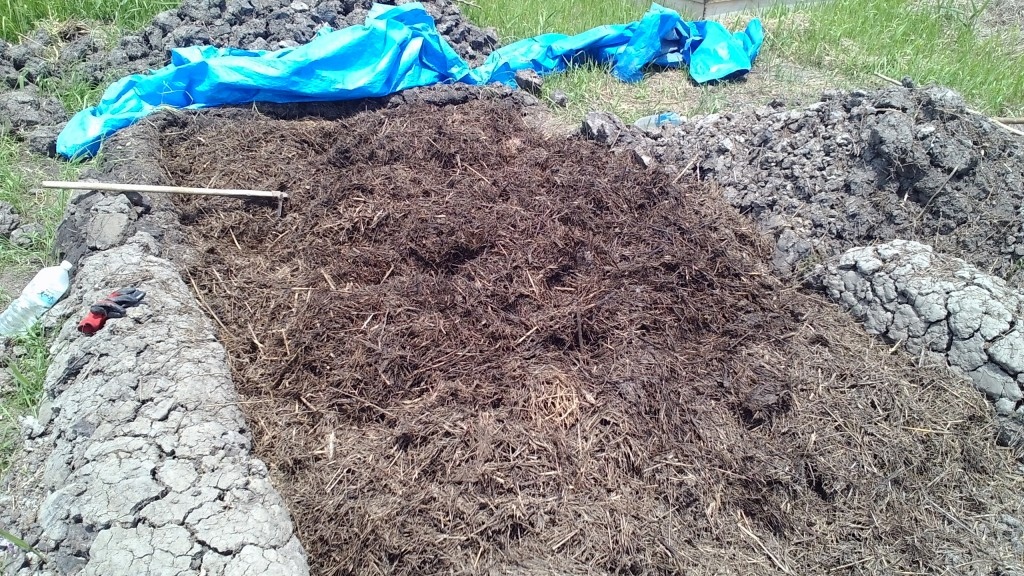 野積み堆肥