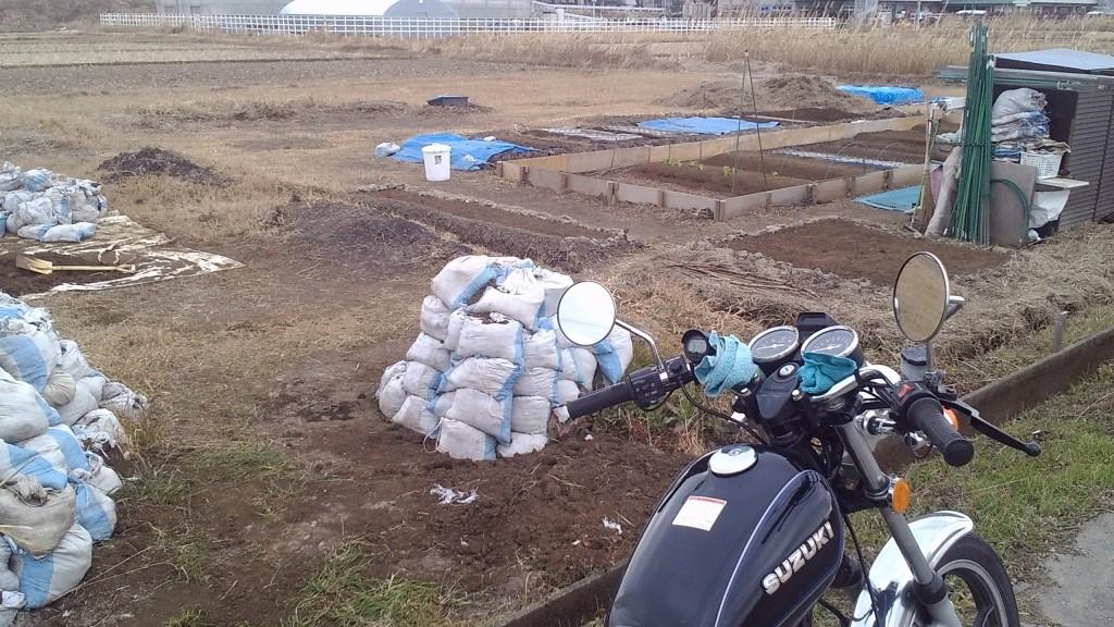 畑の開墾 2017
