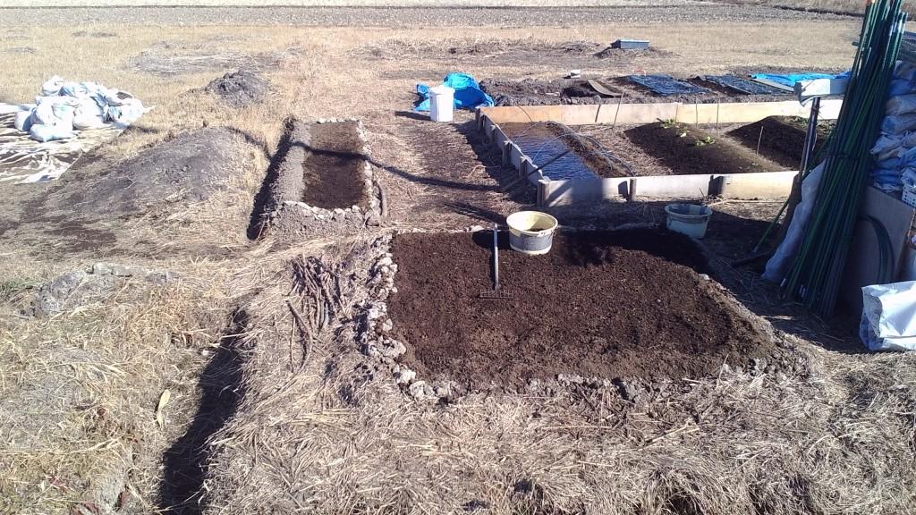 野済み堆肥のすきこみ