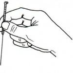 中国鍼の刺し方